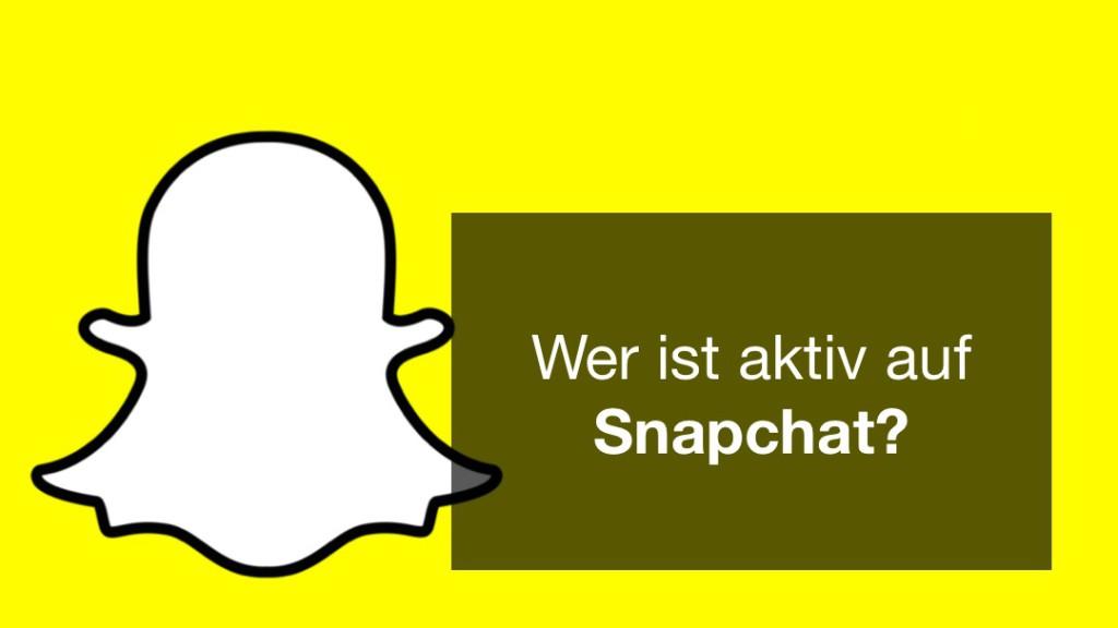 Wer ist aktiv auf Snapchat? Bei den Jungen ist Snapchat weit verbreitet und die Beliebtheit des Kanals steigt.